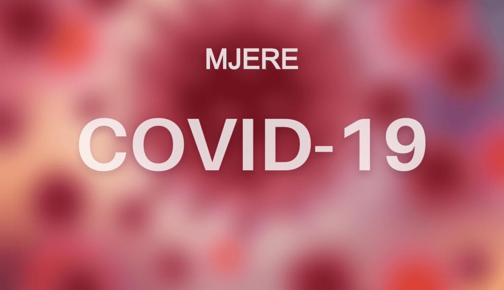 COVID-19 - MJERE - VEGORA