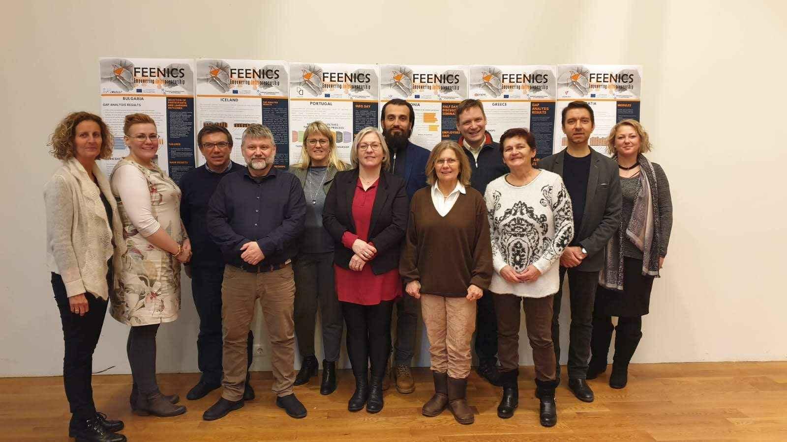 VEGORA - Erasmus+ FEENICS - intrapoduzetništvo