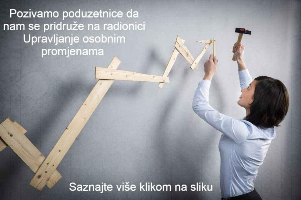 Radionica za poduzetnice - Upravljanje osobnim promjenama - Vegora