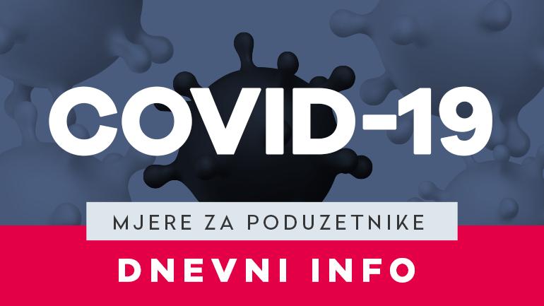 MJERE ZA PODUZETNIKE - VEGORA - COVID-19 - VELIKA GORICA - DNEVNI INFO - HZZ