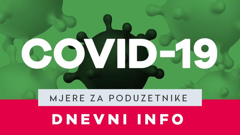 MJERE ZA PODUZETNIKE - VEGORA - COVID-19 - VELIKA GORICA