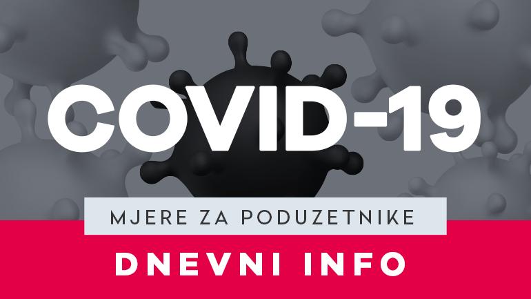 MJERE ZA PODUZETNIKE - VEGORA - COVID-19 - VELIKA GORICA - HBOR - OBRTNA SREDSTVA