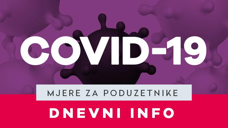 DNEVNI INFO - mjere za pomoć poduzetništvu - VEGORA - Velika Gorica - Covid-19 - HZZ