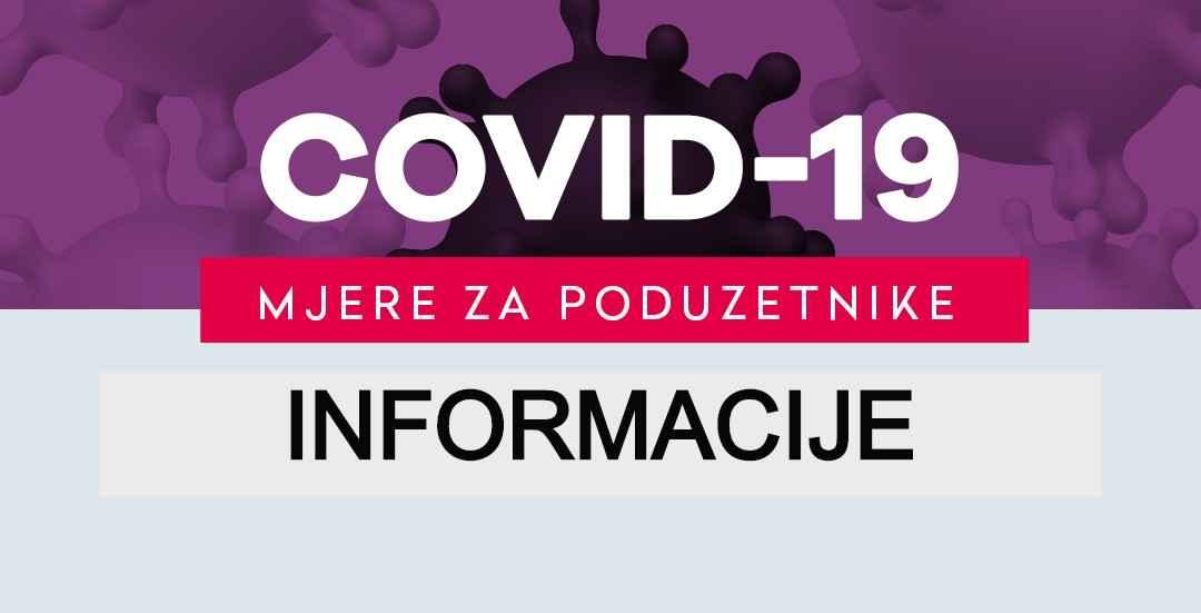 DNEVNI INFO - mjere za pomoć poduzetništvu - VEGORA - Velika Gorica - Covid-19 - HBOR