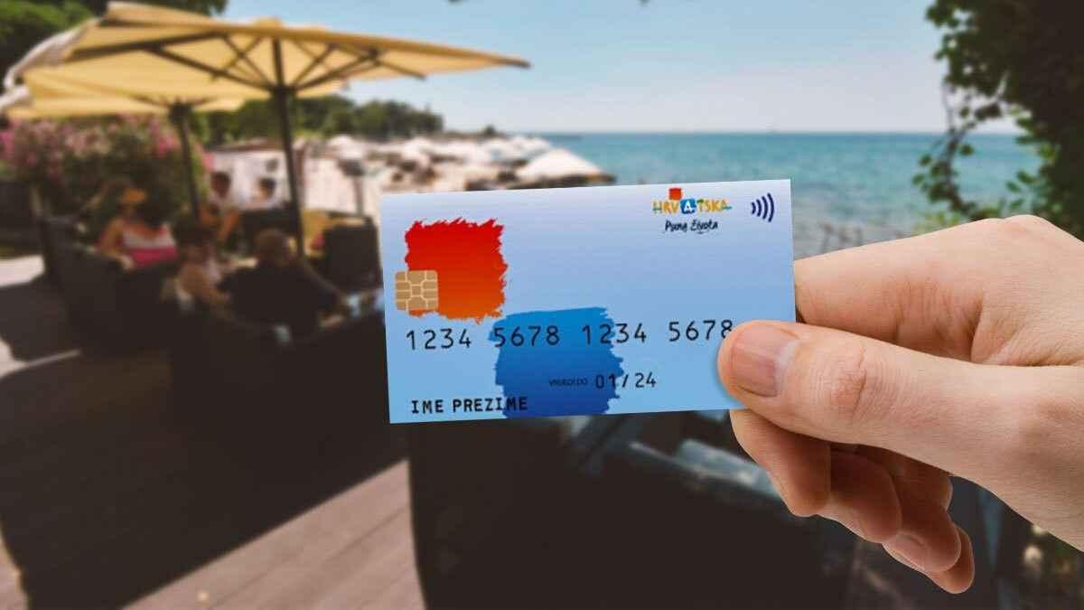 Hrvatska turistička kartica - VEGORA - HTZ
